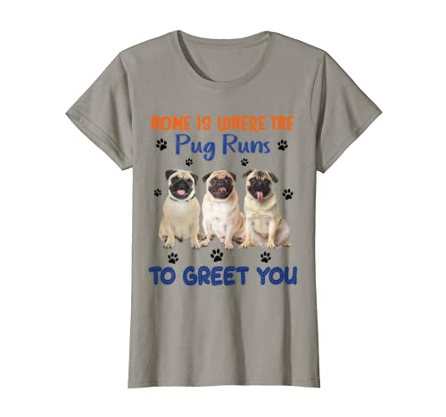 home is where the dog runs to greet you t shirt 2 1 - Classic Shop